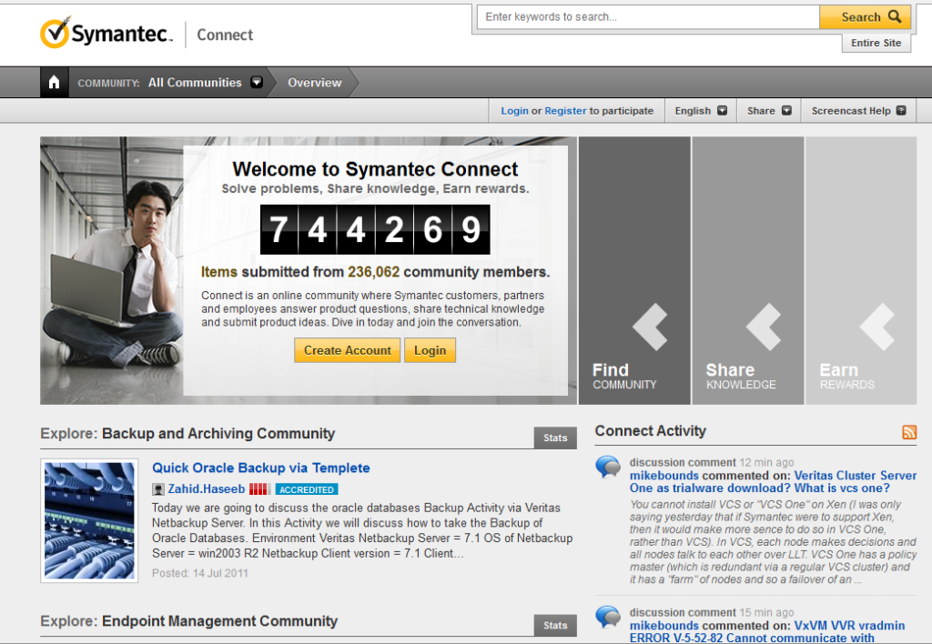 Symantec Community