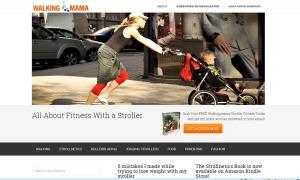 walkingmama bloga mājas lapa