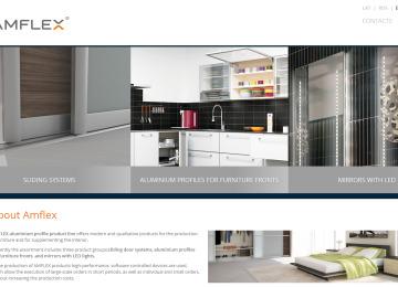 Amflex tīmekļa vietne